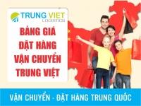 Bảng giá dịch vụ đặt hàng Trung Quốc - Việt Nam