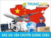 Báo giá đặt hàng Vận chuyển hàng quảng châu về Việt Nam