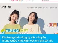 Khotrungviet- công ty vận chuyển Trung Quốc Việt Nam với chi phí từ 12k