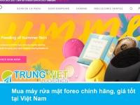 Mua máy rửa mặt foreo chính hãng, giá tốt tại Việt Nam