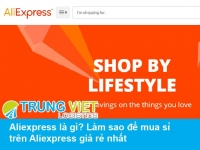 mua sỉ trên Aliexpress
