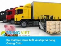 Sự thật bạn chưa biết về ship hộ hàng Quảng Châu