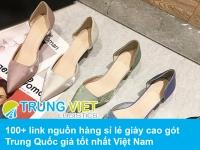 100+ link nguồn hàng sỉ lẻ giày cao gót Trung Quốc giá tốt nhất Việt Nam